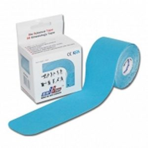 Venda Tape Neuromuscular 5 x 5 Azul (2)