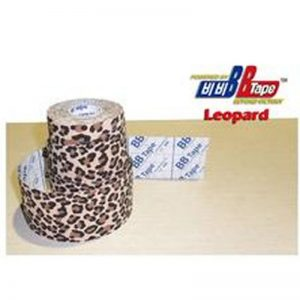 Venda Tape Neuromuscular 5 x 5 Leopardo