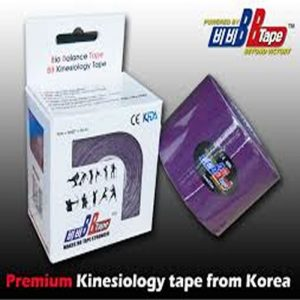 Venda Tape Neuromuscular 5 x 5 Morado