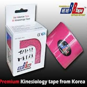 Venda Tape Neuromuscular 5 x 5 Rosa (2)