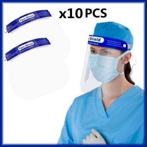Pantalla de proteción facial