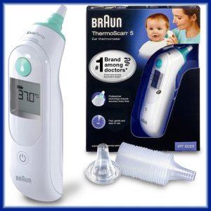 Comprar Termometro de Oido Braun Thermoscan 5 IRT 6020