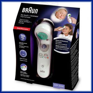 Comprar Termometro sin contacto Braun NTF3000