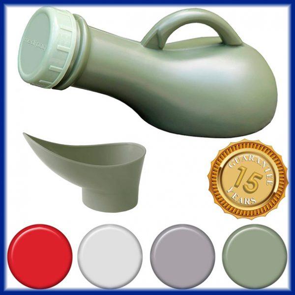 Urinario Unisex Portátil con Tapa
